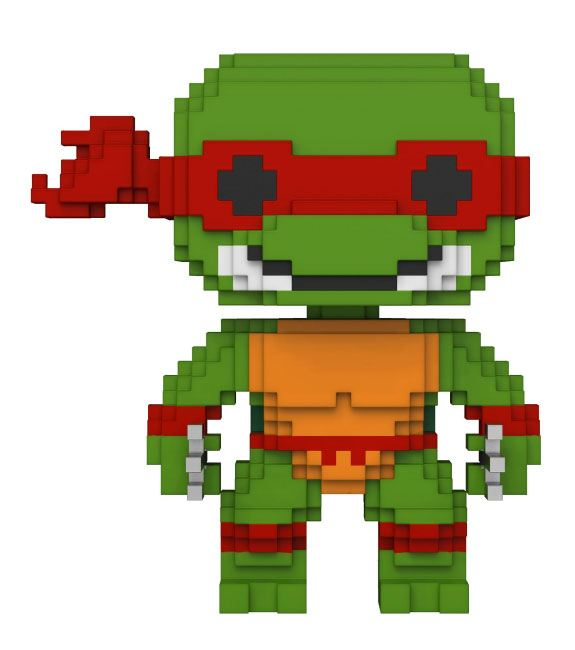 Teenage Mutant Ninja Turtles 8-Bit POP! Vinyl Figure Raphael 10 cm