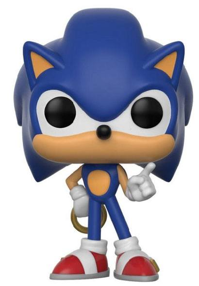Sonic The Hedgehog POP! Games Vinyl Figure Sonic (Ring) 10 cm