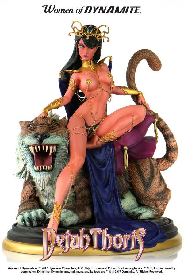 Women of Dynamite Statue Dejah Thoris by J. Scott Campbell 22 cm