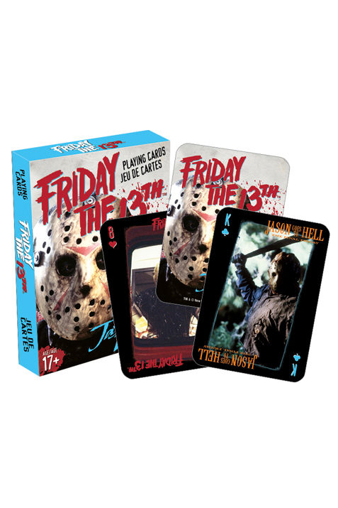 Baralho de cartas / Playing Cards Friday The 13TH