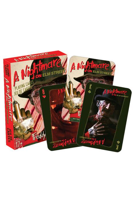 Baralho de Cartas / Nightmare on Elm Street Playing Cards