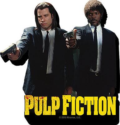 Íman Pulp Fiction Duo Guns Magnet