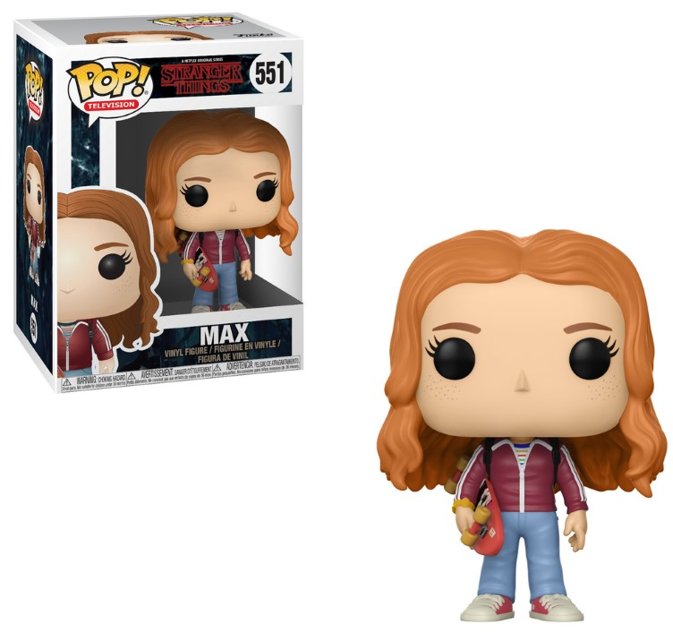 Pop! TV: Stranger Things Wave 3 - Max with Skate Deck Vinyl Figure 10 cm
