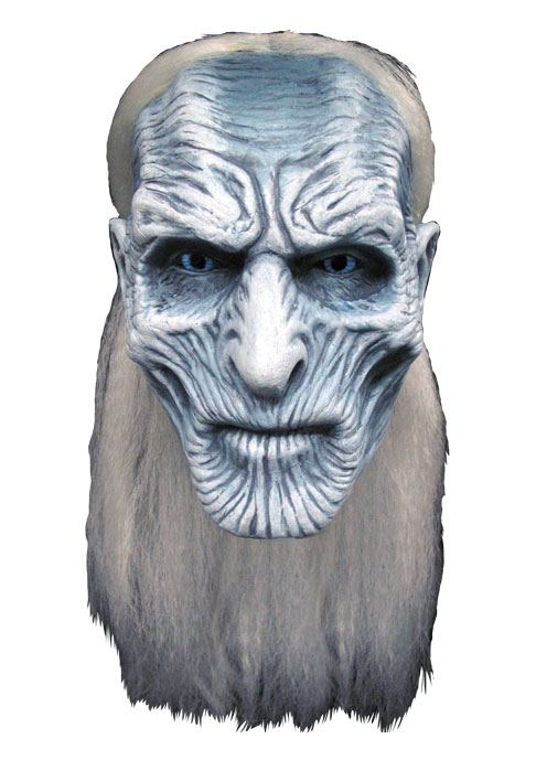 Game of Thrones Latex Mask White Walker