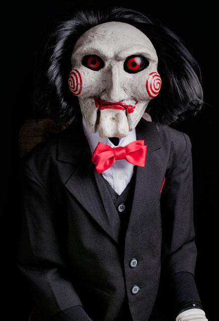 Saw Prop Replica Billy Puppet 119 cm