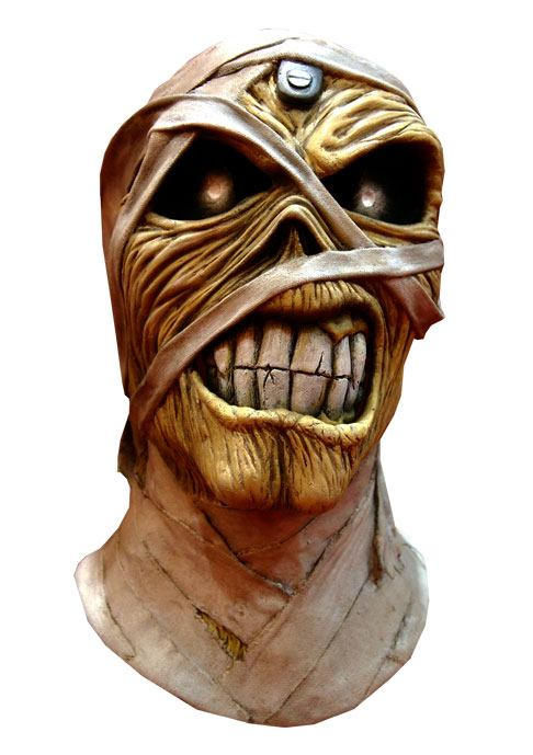 Iron Maiden Latex Mask Powerslave Mummy