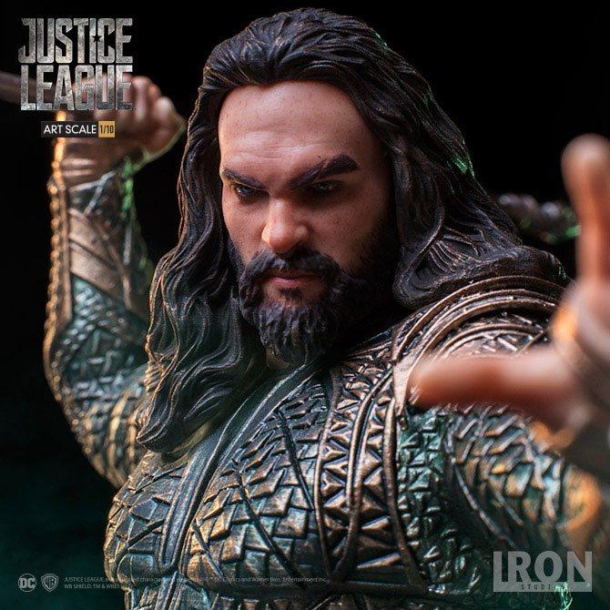 Justice League Art Scale Statue 1/10 Aquaman 22 cm