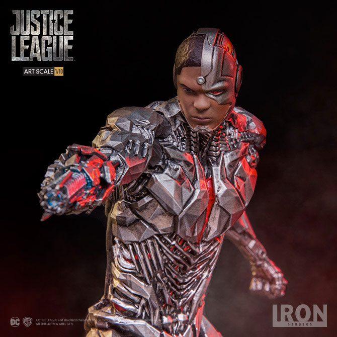 Justice League Art Scale Statue 1/10 Cyborg 19 cm