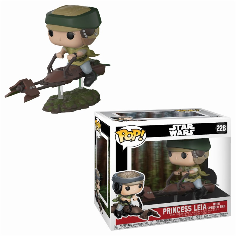 Pop! Star Wars: Leia in Landspeeder Vinyl Figure