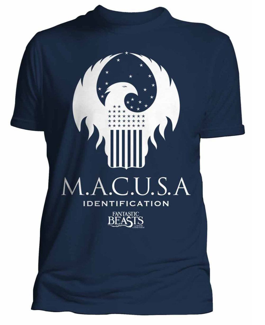 T-Shirt Fantastic Beasts Macusa Tamanho M
