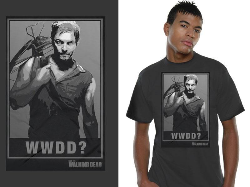 T-Shirt Walking Dead WWDD Tamanho M
