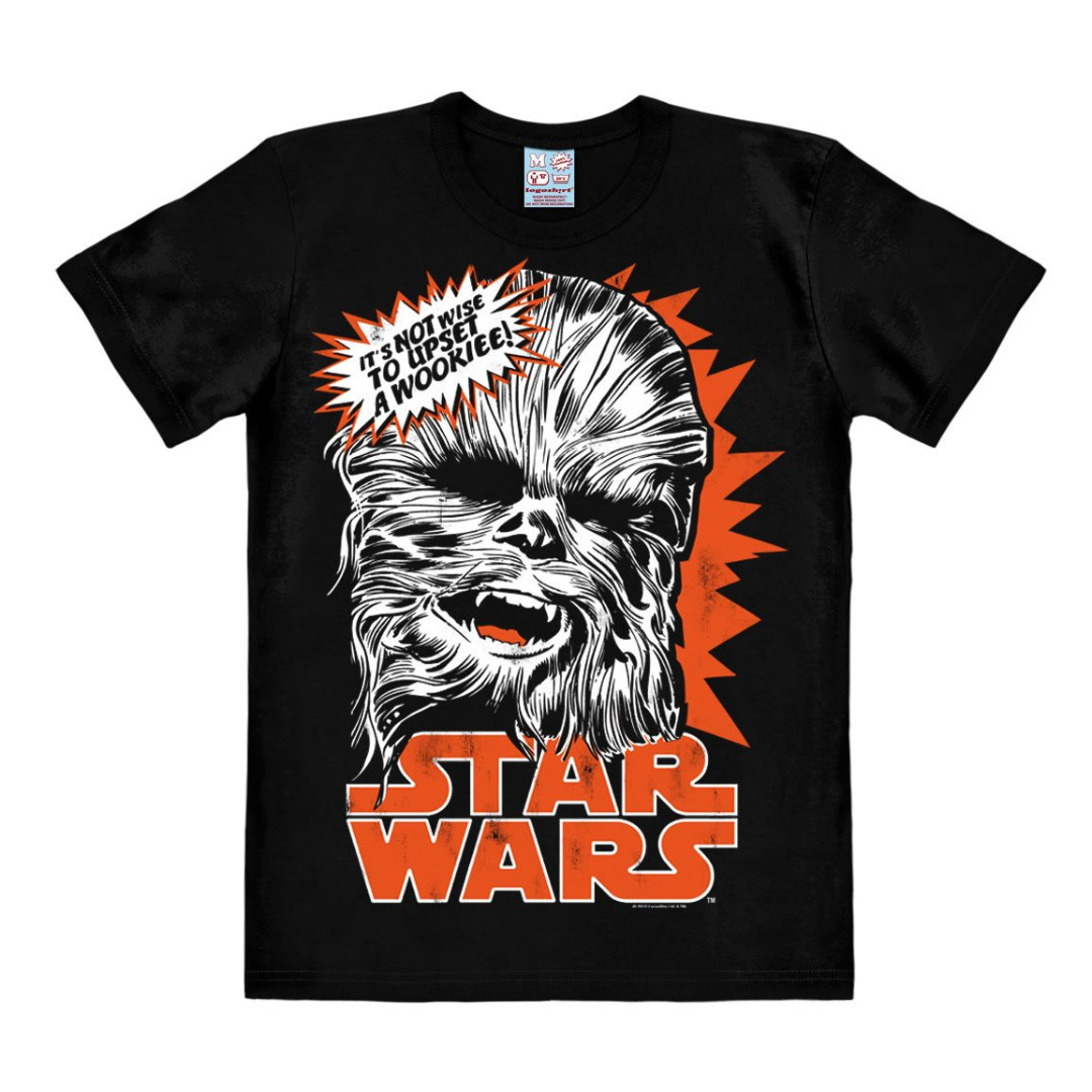 T-Shirt Star Wars Chewbacca Tamanho L