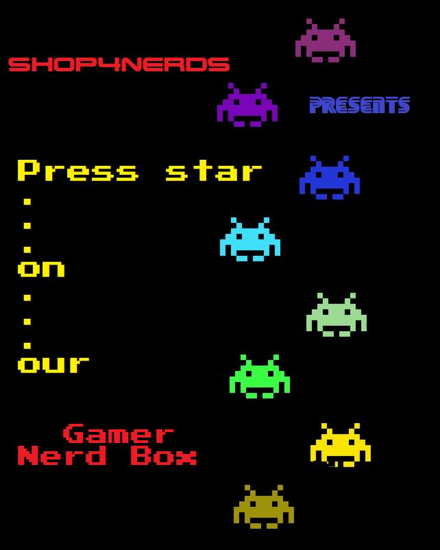 Surprise Gamer Nerd Box + Bonus