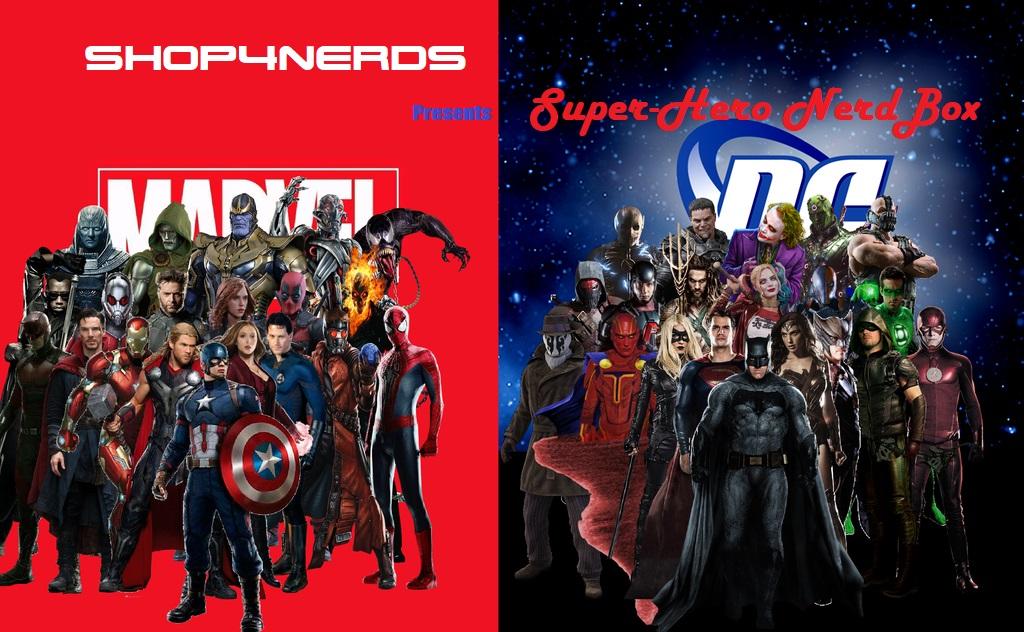 Surprise SuperHero Nerd Box + Bonus