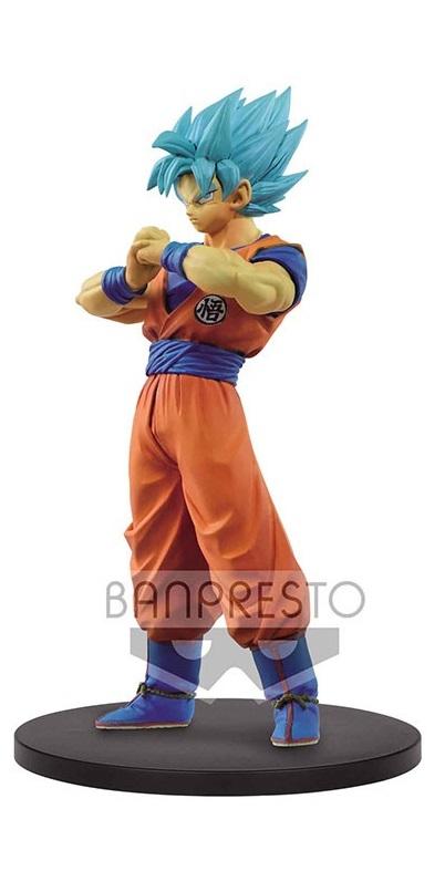 Dragonball Super Warriors DXF Figures Blue Goku 18 cm