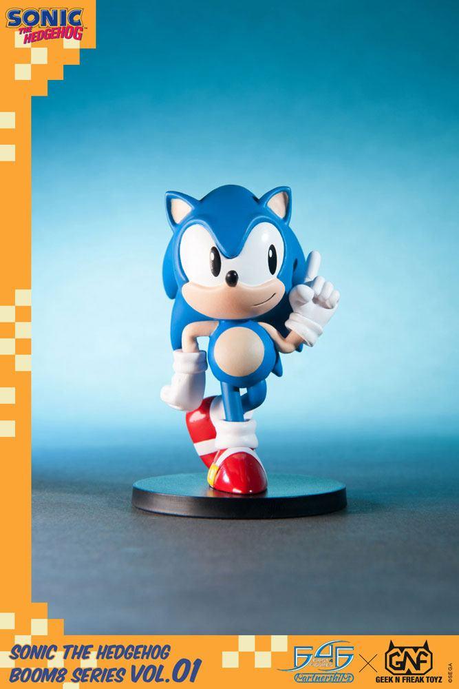 Sonic The Hedgehog BOOM8 Series PVC Figure BOOM8 Series Sonic Vol. 01 8 cm