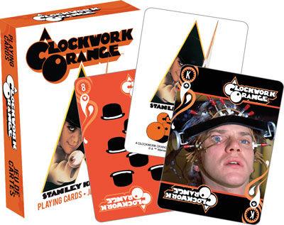 Baralho de Cartas / Playing Cards A Clockwork Orange