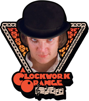 Íman A Clockwork Orange Stare Magnet