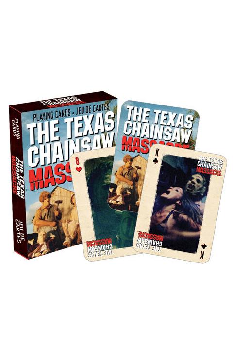 Baralho de Cartas / Playing Cards Texas Chainsaw Massacre