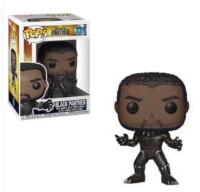 Pop! Marvel: Black Panther - Black Panther Vinyl Figure 10 cm