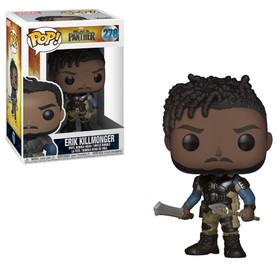 Pop! Marvel: Black Panther - Killmonger Vinyl Figure 10 cm