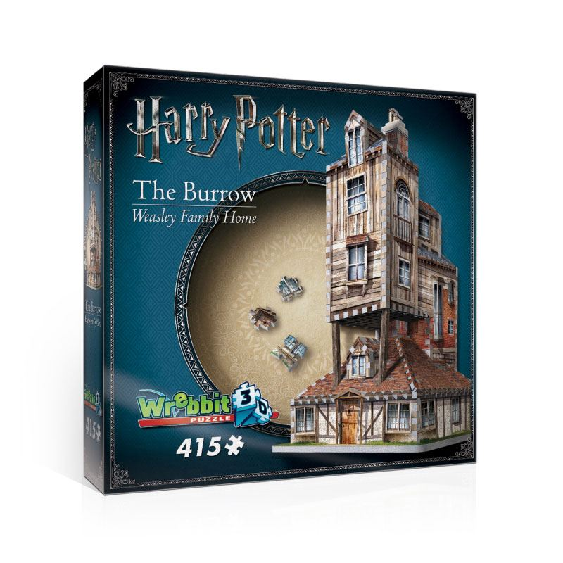 Harry Potter 3D Puzzle The Burrow (Weasley Family Home)