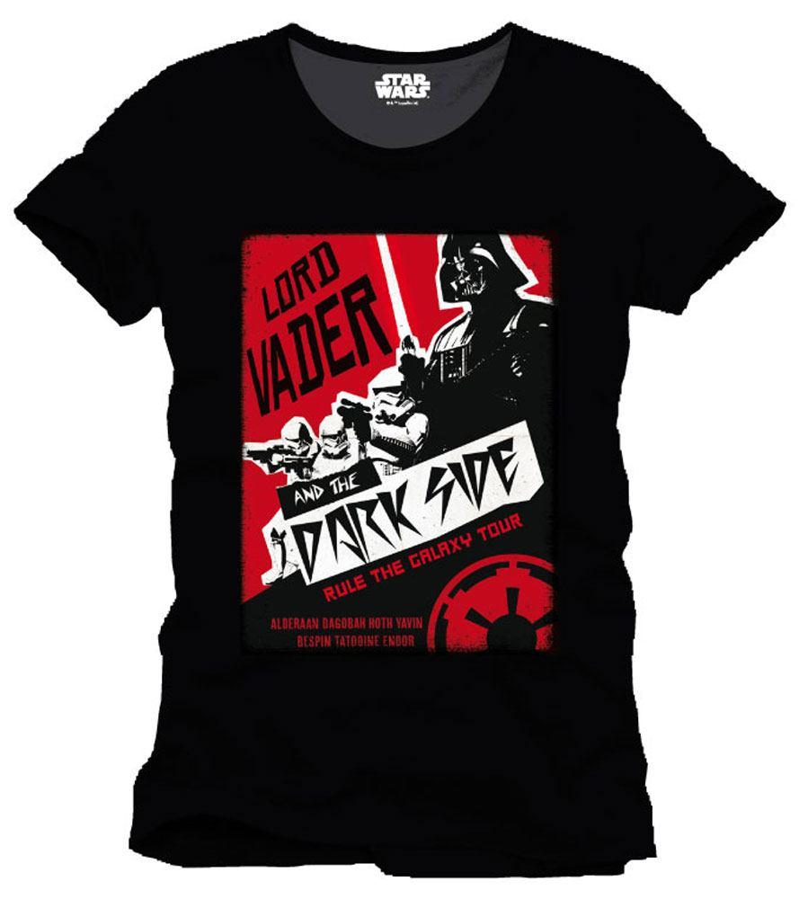 T-Shirt Star Wars Rule The Galaxy Tour Tamanho M