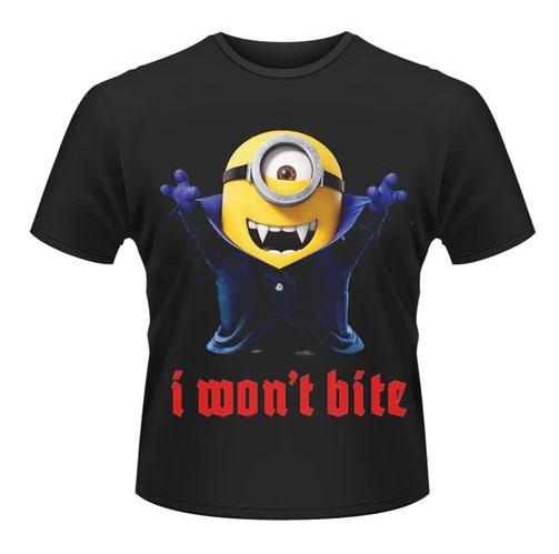 T-Shirt Minions I Wont Bite Tamanho XL