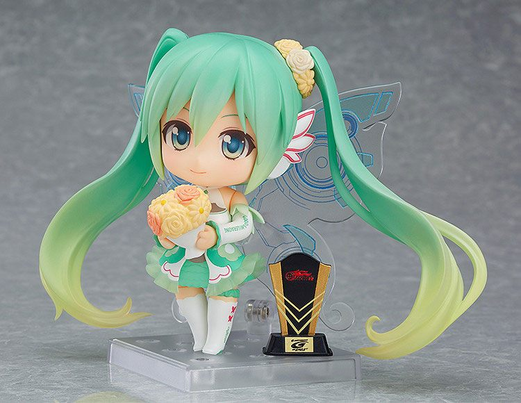 Racing Miku 2017 Nendoroid PVC Action Figure Racing Miku 2017 Ver. 10 cm
