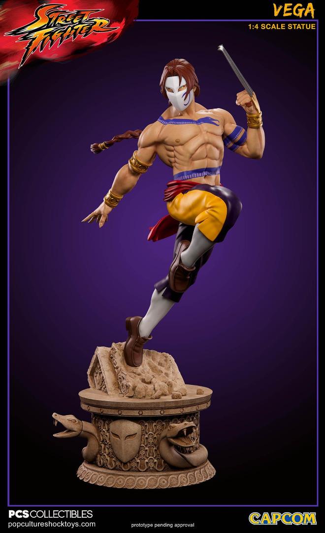 Streetfighter: Vega 1:4 Scale Statue 59 cm