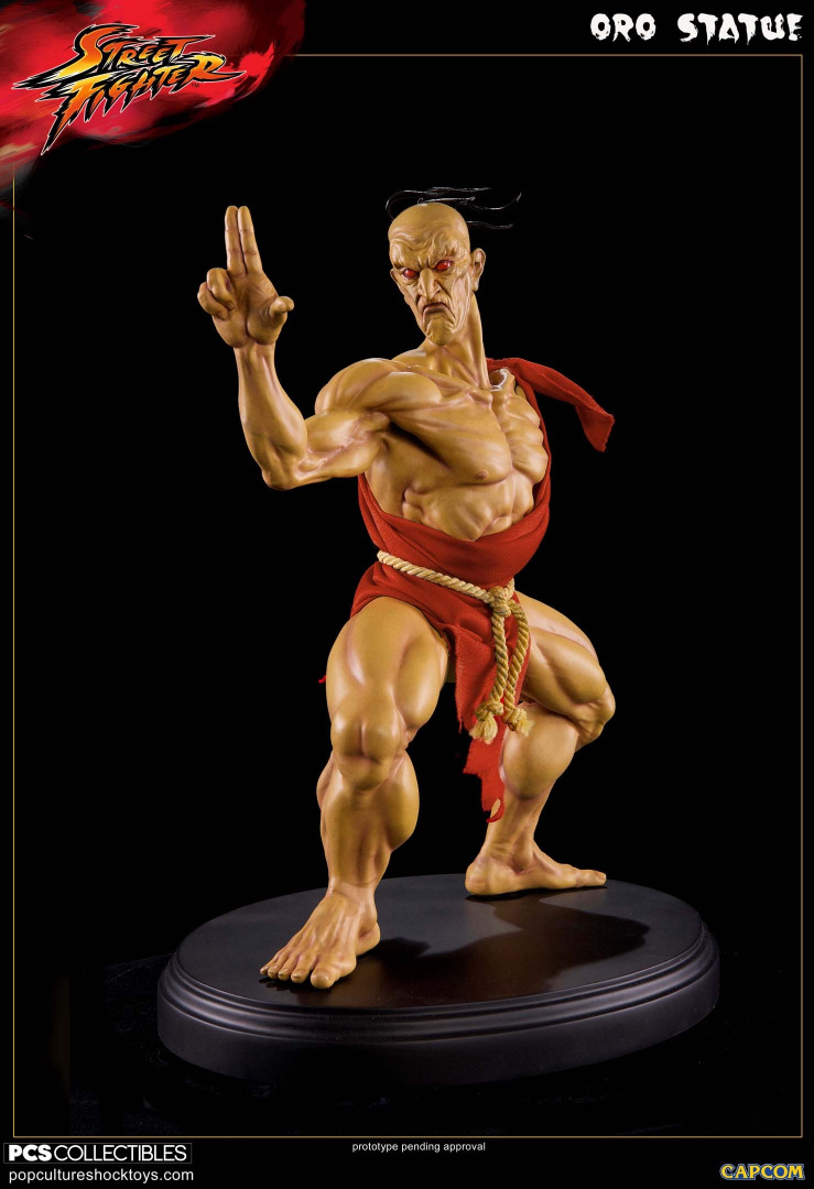 Street Fighter: Oro 1:4 Statue Limited Edition 33 cm