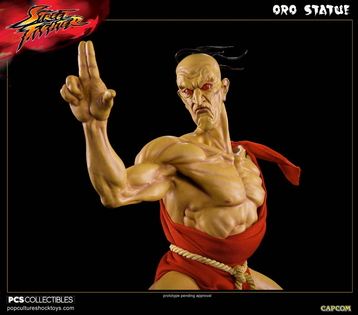 Street Fighter: Oro 1:4 Statue