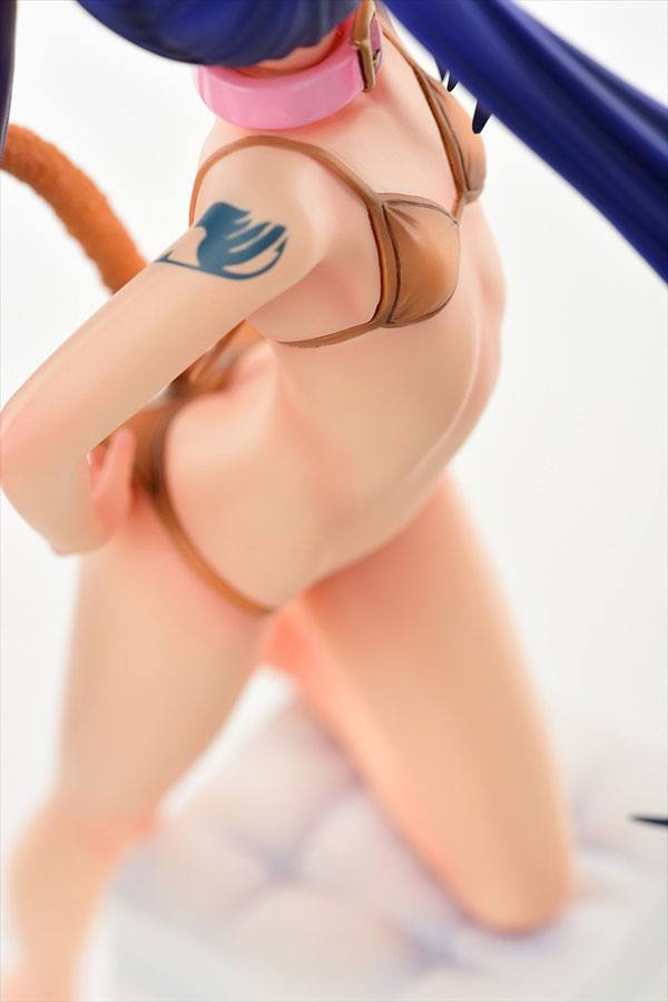 Fairy Tail Statue 1/6 Wendy Marvell Amairo Cat Gravure Style 23 cm