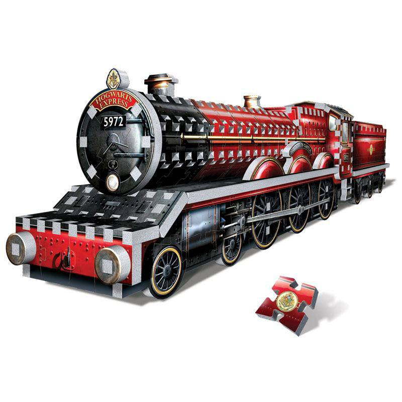 Harry Potter Built-Up Demo 3D Puzzle in Display Case Hogwarts Express
