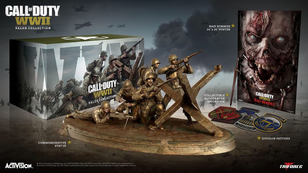 Call of Duty WWII Valor Collection + Extras