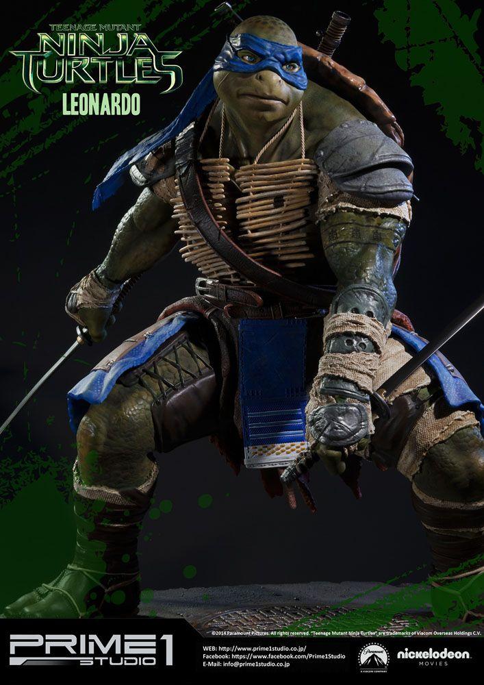 Teenage Mutant Ninja Turtles Museum Master Line Statue Leonardo 58 cm