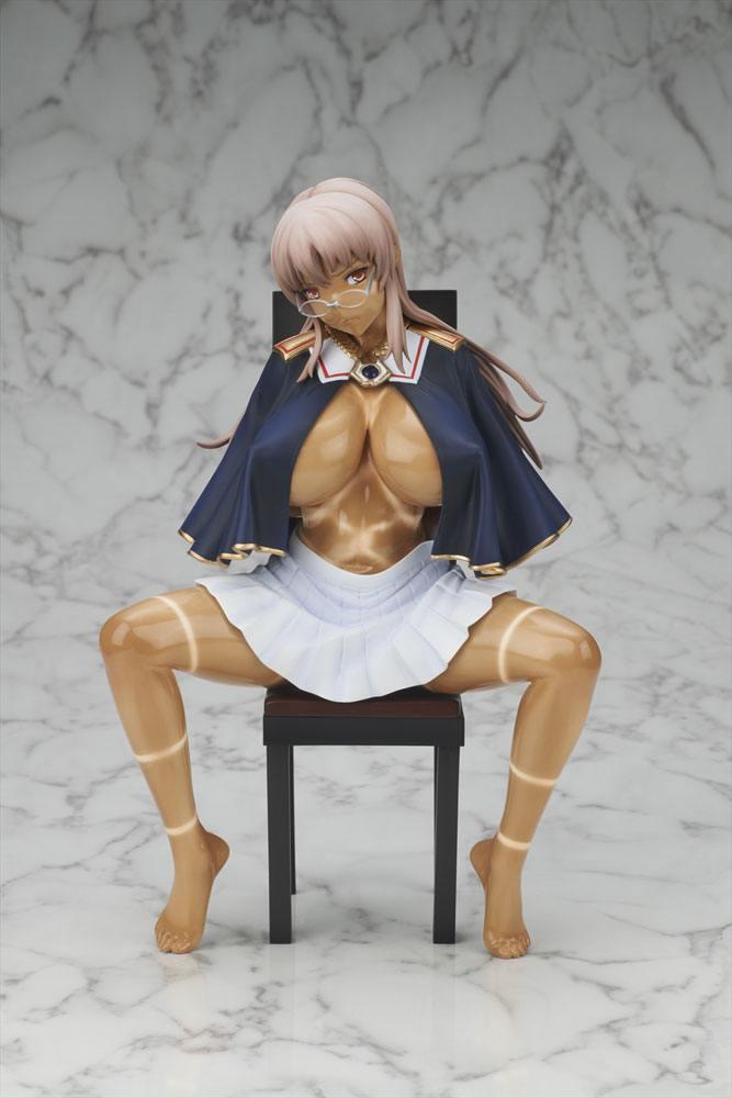 Shinkyoku no Grimoire PVC Statue 1/6 Miya Lindbloom Torn Hemp Bag Ver 23 cm