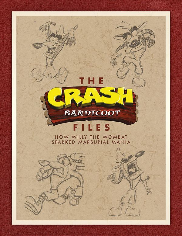 Crash Bandicoot Art Book The Crash Bandicoot Files