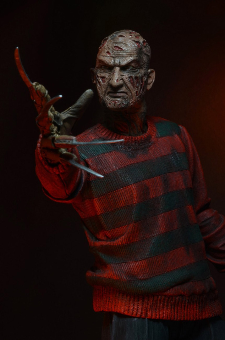 Nightmare on Elm Street AF 30th Anniversary Ultimate Freddy Krueger 18 cm