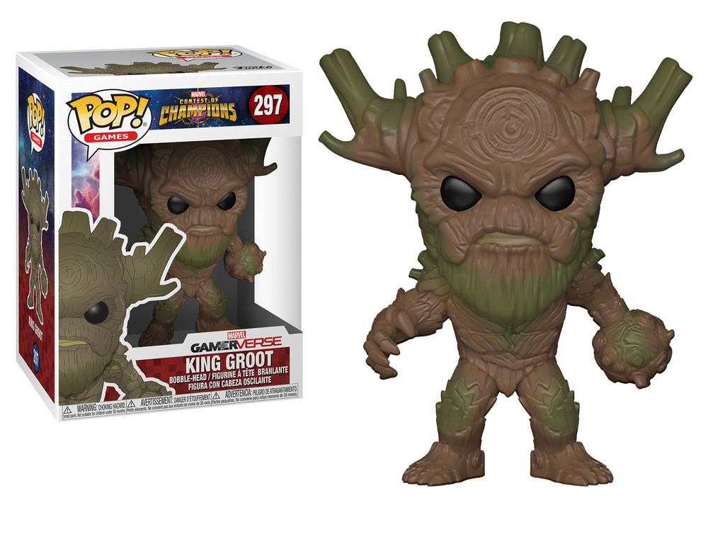 Pop! Marvel: Contest of Champions - King Groot Vinyl Figure 10 cm