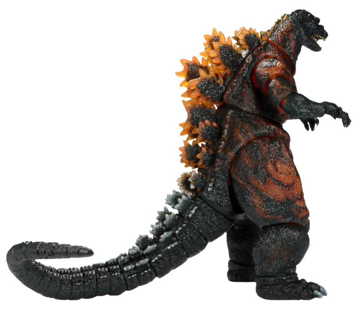 Godzilla Head to Tail Action Figure Classic 1995 Burning Godzilla 30 cm
