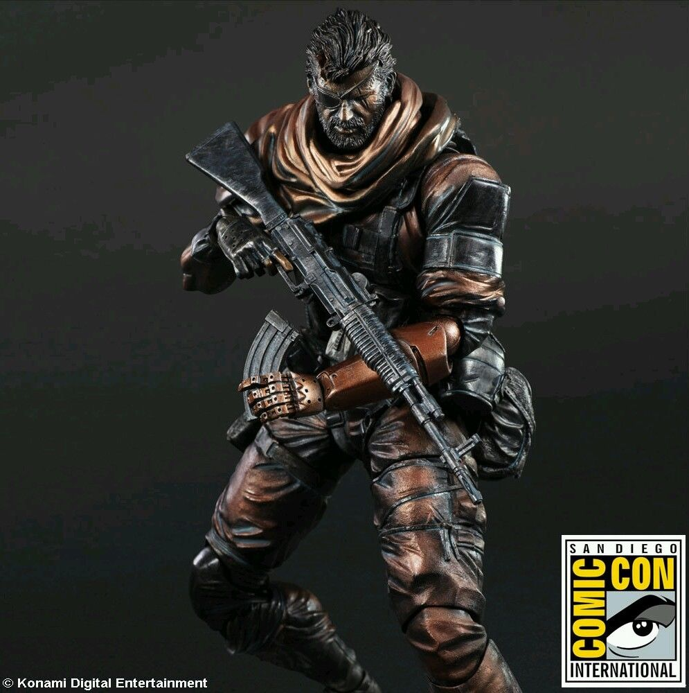 Metal Gear Solid V The Phantom Pain Play Ars Kai Venom Snake SDCC Exc 27 cm