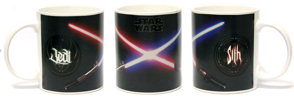 Caneca Star Wars Heat Change Mug Jedi & Sith