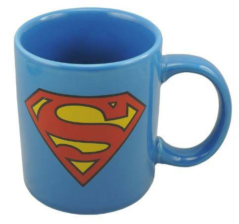 Caneca Superman Logo Blue