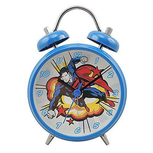 Relógio Despartador DC Superman