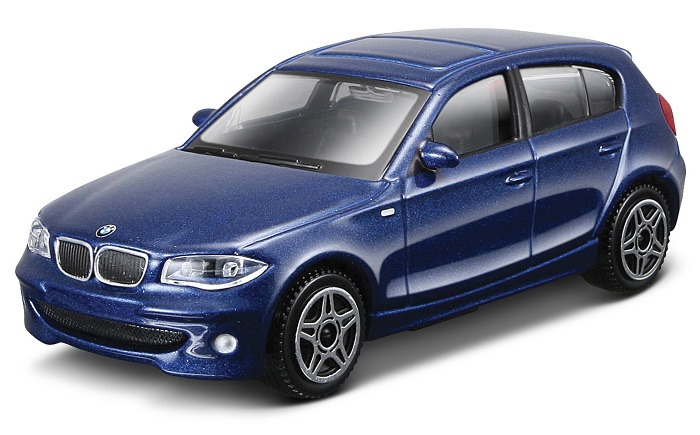 BMW 1 Serie 2010 1:43 (Blue/Azul)