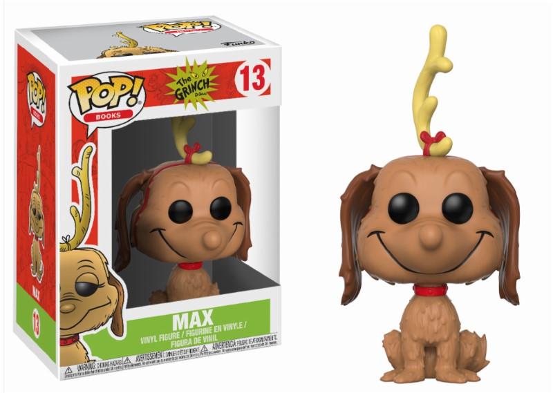 Pop! Movie: The Grinch - Max the Dog Vinyl Figure 10 cm