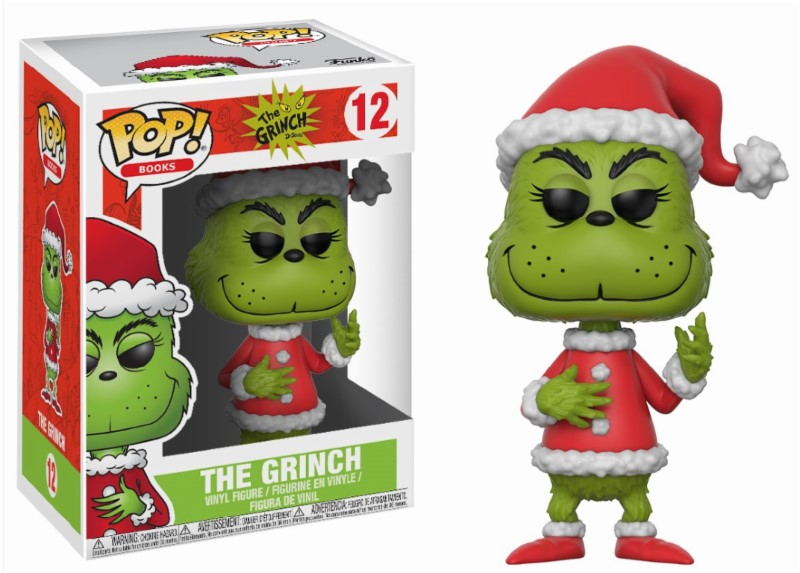 Pop! Movie: The Grinch - Santa Grinch Vinyl Figure 10 cm