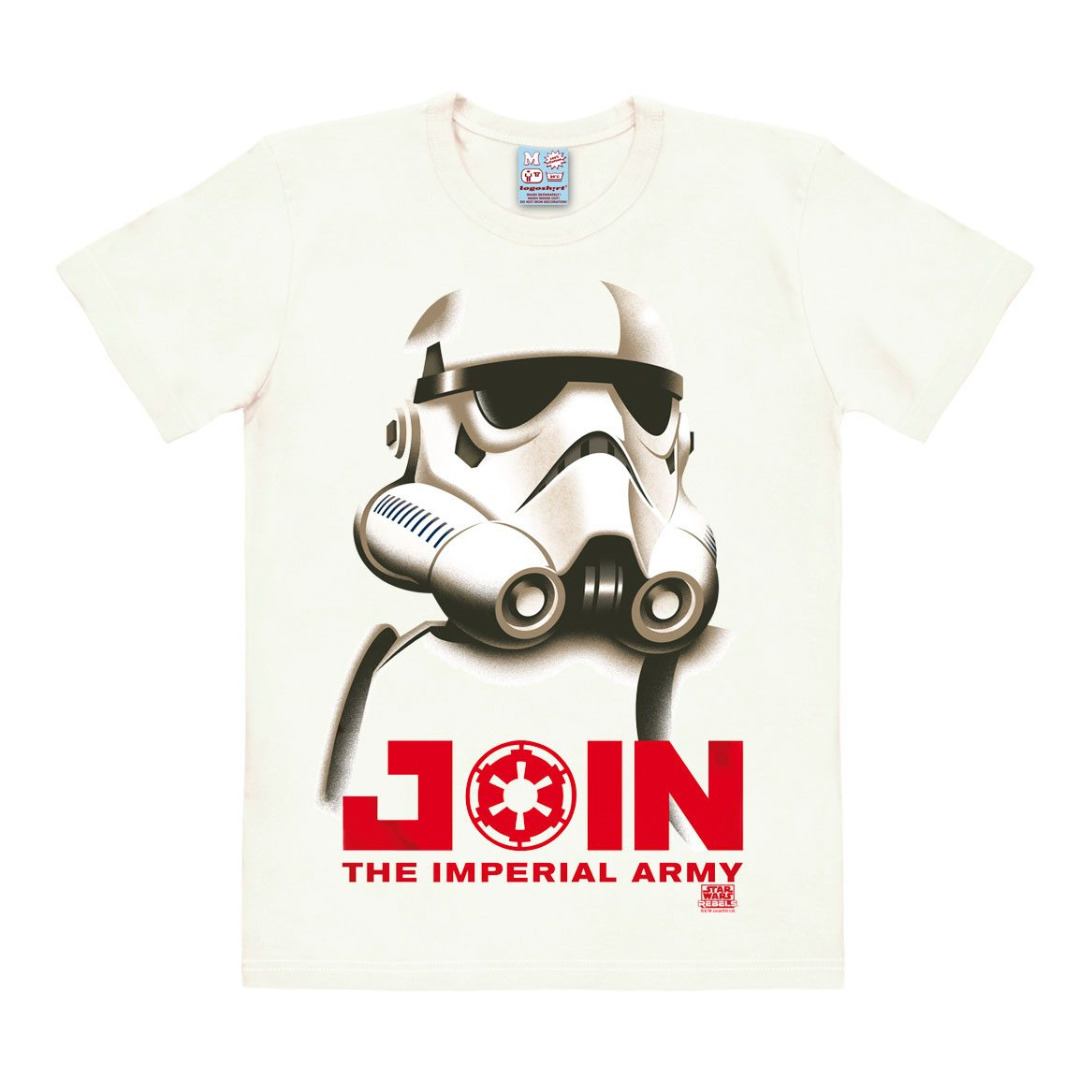 Star Wars T-Shirt Join The Imperial Army Tamanho S