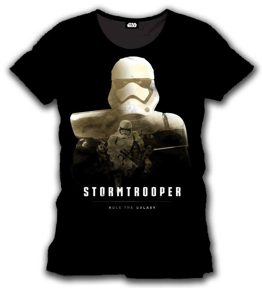 T-Shirt Star Wars Episode VII Stormtrooper Rule The Galaxy Tamanho M